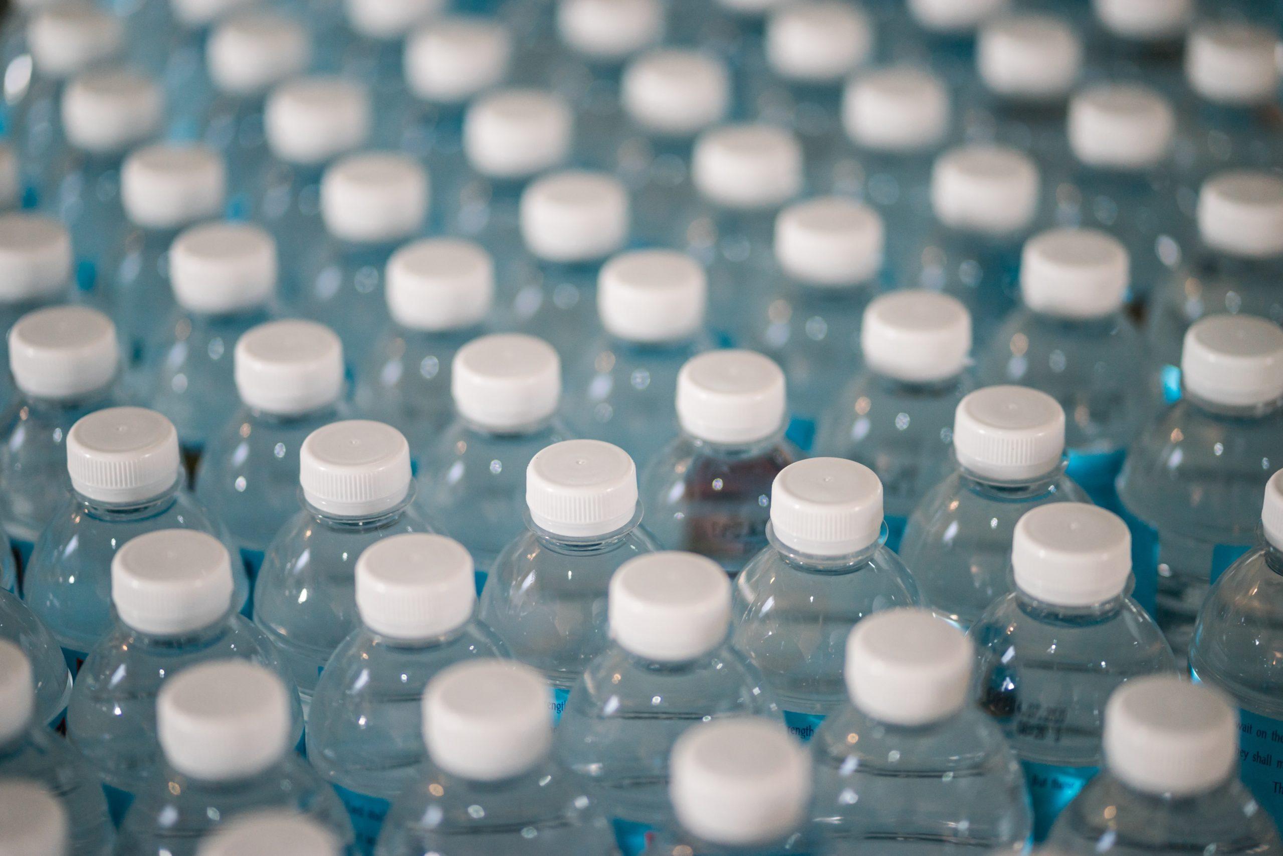Wasserflaschen Getränke